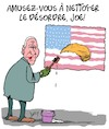 Cartoon: Amusez-vous! (small) by Karsten tagged biden,trump,usa,elections,politique,division,desordre,republicains,democrates
