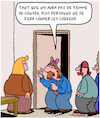 Cartoon: Au Conseil (small) by Karsten tagged femmes,quota,de,economie,business,hommes,equite,politique