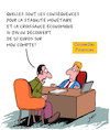 Cartoon: Consequences (small) by Karsten tagged croissance,stabilite,economie,finance,politique,endettement,euro
