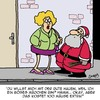 Cartoon: Extra (small) by Karsten tagged weihnachten,männer,frauen,prostitution,jobs,weihnachtsmann,strafe,rute,mythen,geld,wirtschaft,gesellschaft