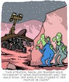 Cartoon: Fais Attention! (small) by Karsten Schley tagged mars,rover,science,nasa,espace,extraterrestres,martiens,vie,technologie