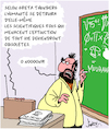 Cartoon: Humanite (small) by Karsten tagged scientifiques,climat,environnement,science,fiction,cinema,divertissement,medias