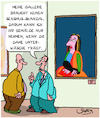 Cartoon: Kunst-Skandal (small) by Karsten tagged kunst,zensur,galerien,künstler,metoo,business,mode,medien,skandale