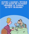 Cartoon: Maris (small) by Karsten tagged mariage,amour,famille,femmes,hommes,journales,technologie,histoire