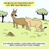 Cartoon: Neulich in der Natur... (small) by Karsten tagged natur,afrika,wildnis,tiere,wildtiere,savanne,löwen,antilopen