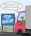 Cartoon: Papier Toilette (small) by Karsten tagged corona,transports,routiers,service,sante,politique