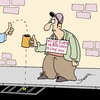 Cartoon: Please Help!! (small) by Karsten tagged money,poverty,social,issues,society,business,economy