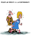 Cartoon: Pour le Droit (small) by Karsten tagged extremisme,droit,nazis,internet,facebook,technologie,politique
