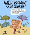 Cartoon: Profiteure (small) by Karsten tagged brexit,uk,europa,politik,immigration,asyl,verhandlungen,demokratie,gesellschaft,fischerei,tiere