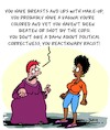 Cartoon: Reactionary! (small) by Karsten tagged women,bigotry,culture,racism,social,issues,politics,media