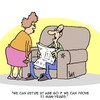 Cartoon: Retirement (small) by Karsten tagged work,retirement,pensions,jobs,economy,business,politics