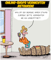 Cartoon: Retouren (small) by Karsten tagged internet,onlineshopping,wirtschaft,transport,pakete,service,business,resourcen