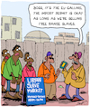 Cartoon: Slavery (small) by Karsten tagged libya,slavery,europe,refugees,human,rights,politics,politicians,social,issues,africa