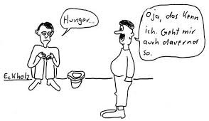 Cartoon: Hunger (medium) by Amokkritzler tagged hunger,armut,gesellschaft