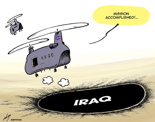 EUA deixarão o Iraque