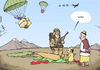 Cartoon: More troops to Afghanistan (small) by rodrigo tagged afghanistan troops american usa us united states obama military
