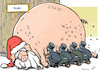 Cartoon: Piggy bailouts (small) by rodrigo tagged banks european union italy portugal spain eu bailout rescue state
