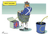 Cartoon: Scotch bucket challenge (small) by rodrigo tagged scotland,uniter,kingdom,uk,great,britain,independence,referendum,bucket,challenge,european,union,eu,europe