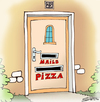 Cartoon: pizza (small) by Svetlin Stefanov tagged pizzapitch