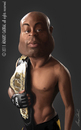 Cartoon: Anderson Silva (small) by alvarocabral tagged caricature