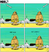 Cartoon: MRR 3 - ENG (small) by Yavou tagged mrr,comicstrip,cartoon,caveman,prehistoric,bone,yavou
