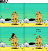 Cartoon: MRR 4 - ENG (small) by Yavou tagged stoneage mrr yavou comicstrip steinzeit höhlenmensch neandertaler cro magnon caveman club keule butterfly schmetterling prähistorisch schmerz pain prehistoric