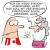 Cartoon: Pyrotechnik (small) by klaartoons tagged fussball,bundesliga,pyro,ultras,samstag,sonntag,sportschau