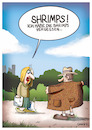 Cartoon: Shrimps vergessen (small) by GYMMICK tagged gymmick,shrimps,einkaufen,exhibitionist,frau,mann,tüte,lauch,park