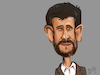 Cartoon: mohammad ahmadinejad Caricature (small) by Gamika tagged caricature,political