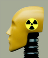 Cartoon: nuclear dummy (small) by tanerbey tagged nuclear,dummy