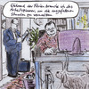 Cartoon: Absetzbares Arbeitszimmer (small) by Bernd Zeller tagged arbeitszimmer,absetzbarkeit,bvg,bundesverfassungsgericht