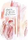 Cartoon: Erkenntnistheorie (small) by Bernd Zeller tagged empirie