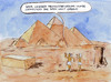 Cartoon: Gizeh (small) by Bernd Zeller tagged gizeh,pyramiden,ägypten