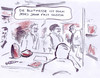 Cartoon: Messebesucher (small) by Bernd Zeller tagged messe,buchmesse,blut