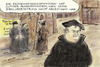 Cartoon: Reformationstag (small) by Bernd Zeller tagged luther,reformationstag