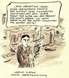 Cartoon: Rezension (small) by Bernd Zeller tagged rezension,buch,autor,kritiker,schriftsteller,kafka,poe