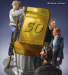 Cartoon: 50 (small) by Charmless tagged 50