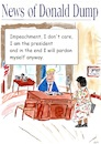 Cartoon: Donald Dump impeachment (small) by Stefan von Emmerich tagged doland,trump,impeachment