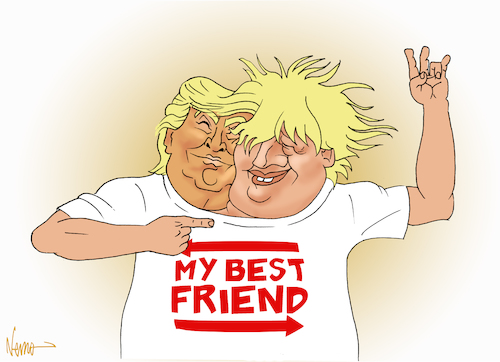 Best Friends Trump and Boris
