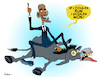 Cartoon: If I Coulda Run (small) by NEM0 tagged barack,obama,democrat,dunkey,election,loss,third,term,president,usa,nemo,nem0