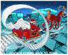 Cartoon: SANTA is Back to Town (small) by NEM0 tagged santa,clauss,credit,card,visa,mastercard,rudolf,xmas,christmas,gift,money,consumerism