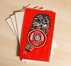Cartoon: owl on ply wood (small) by Battlestar tagged eule,owl,tiere,animals,illustration,alarm