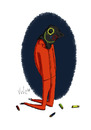 Cartoon: Guantanamo (small) by julianloa tagged guantanamo militär hilfe angst politik folter terrorismus