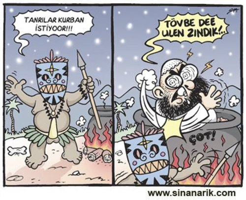 Cartoon: Sinan ARIK (medium) by Sinan ARIK tagged arik,girgir,karikatür,sinan