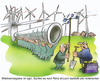 Cartoon: Bürgerwindpark (small) by HSB-Cartoon tagged wind,windenergie,büregrwindpark,windrad,windräder,energie,strom,ökologie,cartoon,karikatur,hsb,airbrush