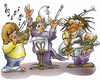 Cartoon: classic (small) by HSB-Cartoon tagged musik,classic,rock,classicmusik,rockmusic,guitar,child,children,musicteacher,cartoon,caricature,airbrush,musiccartoon,rockmusik,klassik,geige