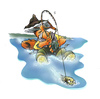 Cartoon: fishing (small) by HSB-Cartoon tagged fish,fishing,angel,angelsport,port,water,sea,lake,river,see,wasser,fluss,cartoon,cartoonmotiv,karikatur,caricature,airbrush