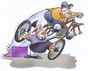 Cartoon: Funbike race (small) by HSB-Cartoon tagged funsport,sport,bike,biker,bycicle,ciclepath,drive,politic,cartoon,caricature,airbrush