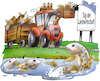 Cartoon: Landwirtschaftstag (small) by HSB-Cartoon tagged chicken,farm,farmer,field,fish,hen,horse,sheep,airbrush,bauer,bauernhof,ente,enten,fisch,fische,frischluft,hofleben,hsb,hsbcartoon,huhn,hähnchen,hühner,karikatur,landluft,landwirt,landwirtschaft,lokalkarikatur,mobil,pferd,pferde,präsentation,schaf,schafe,stall,tag,der,offenen,tür,traktor,trecker