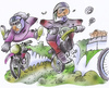 Cartoon: Motocross (small) by HSB-Cartoon tagged motocross,enduro,funsport,cross,bike,biker,motorrad,geländemotorrad,geländemaschine,crossrad,crossmaschine,outdoor,trial,karikatur,karikaturist,karikaturzeichner,crossrennen,race,racer,piste,drive,endurostrecke,sturzhelm,moped,motorradfahrer,ktm,yamaha,ho